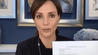 Lilly Téllez manda carta a Gatell sobre cáncer; oficina la rechaza, asegura