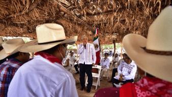 AMLO insiste en disculpa de gobiernos extranjeros ante yaquis