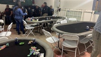Hija de exdiputada y 36 personas más detenidas en casino clandestino de Playas