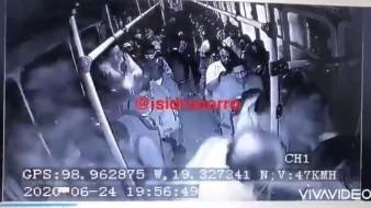 Tiroteo durante un asalto a pasajeros en transporte público del Estado de México