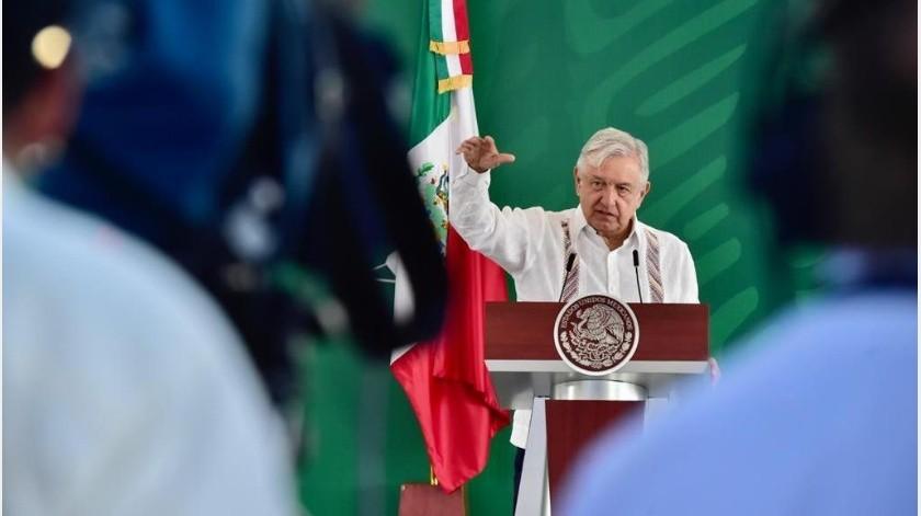 """López Obrador aseguró que es respetuoso de esta decisión; sin embargo, indicó que México tiene """"mejor situación"""" en la pandemia(Gobierno de México)"""