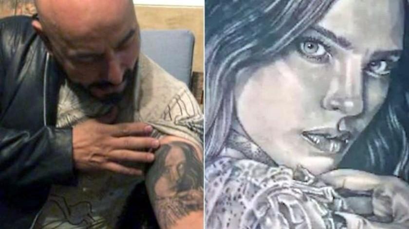 ¿Lupillo Rivera se 'arrancará' de la piel a Belinda?(Capturas de pantalla y edición)
