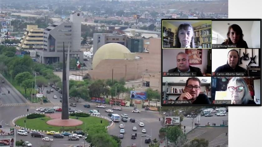 El Cecut lleva a cabo conversatorios digitales para difundir la Trienal Tijuana I Internacional Pictórica.(Cortesía)