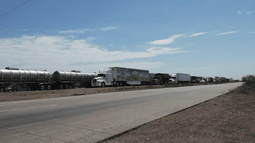Solo vehiculos de emergencia y particulares podrán pasar por Vícam(Especial)