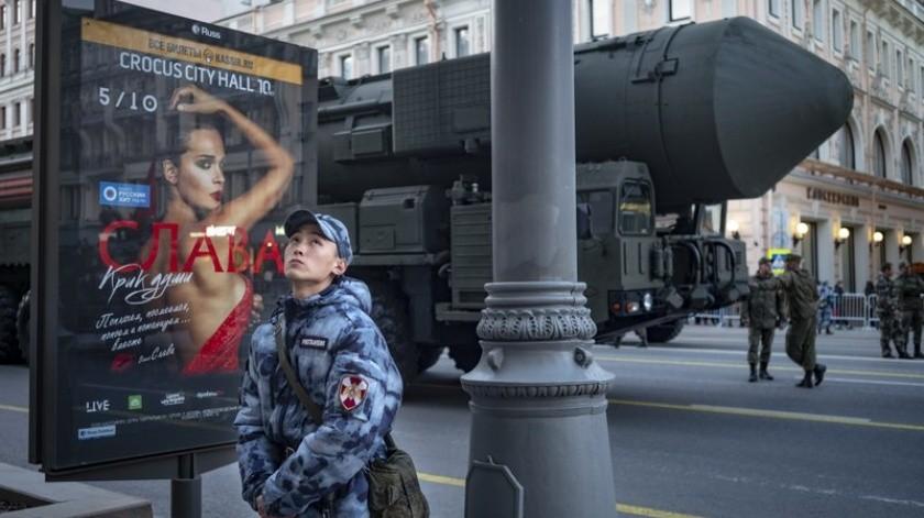 Rusia considerará todo misil lanzado como ataque nuclear(AP)