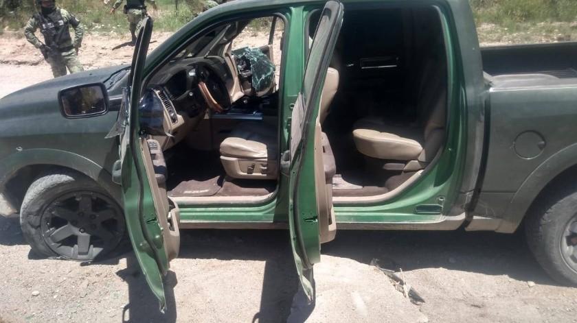 Guardia Nacional asegura armamento y auto en Magdalena de Kino tras reporte de detonaciones(Especial)