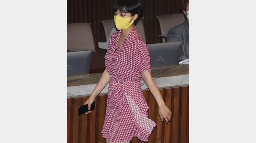 Critican a diputada que usó un vestido en el Parlamento(Tomada de la red)