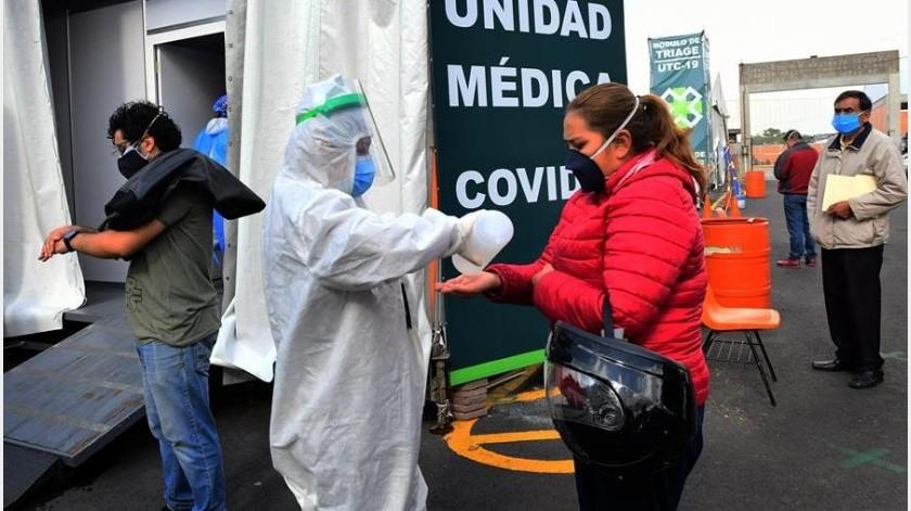 Covid-19 en México: 7 estados alcanzan su máximo punto de la pandemia y ahora van a la baja(EFE)