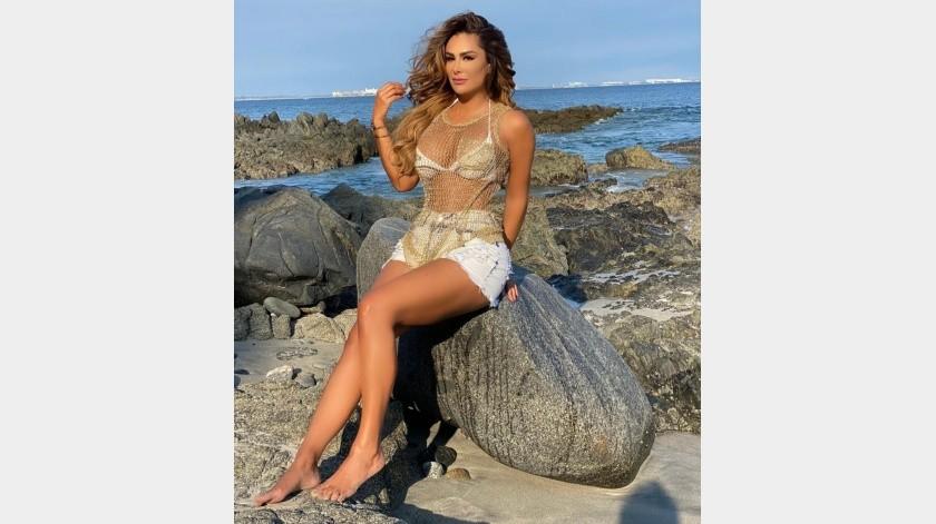La cantante lució su figura en redes sociales