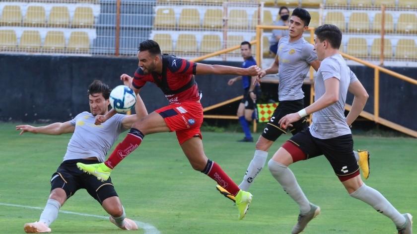 Cimarrones de Sonora jugó su segundo partido de pretemporada.(Cortesía)