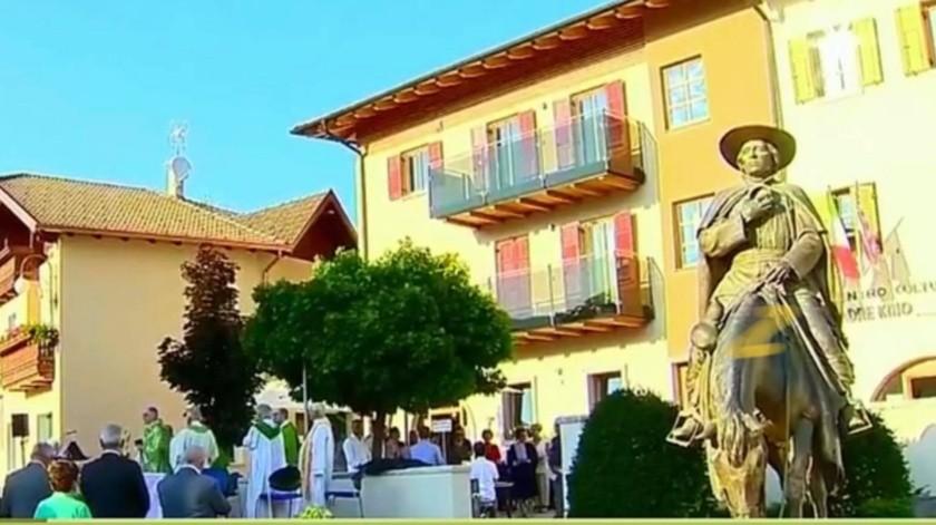 Papa declara como Venerable al padre Eusebio Francisco Kino en Italia(Captura de pantalla)