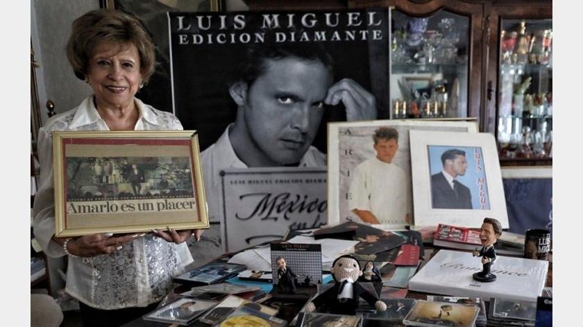 Murió la fan número uno de Luis Miguel(Tomada de la red)