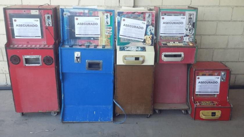 Siguen cateos de maquinitas tragamonedas en Mexicali