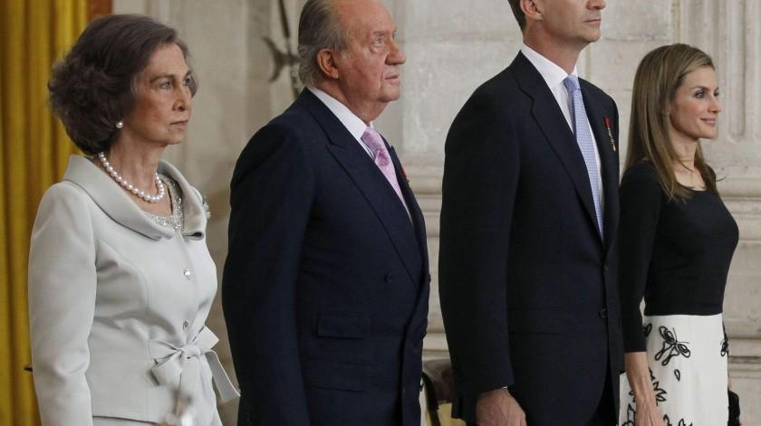 España: Alrededor de 200 personas se manifiestan contra la Monarquía(AP)