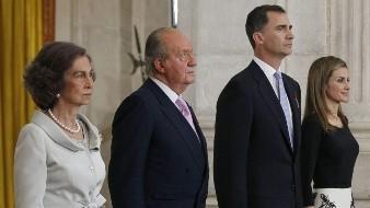 España: Alrededor de 200 personas se manifiestan contra la Monarquía