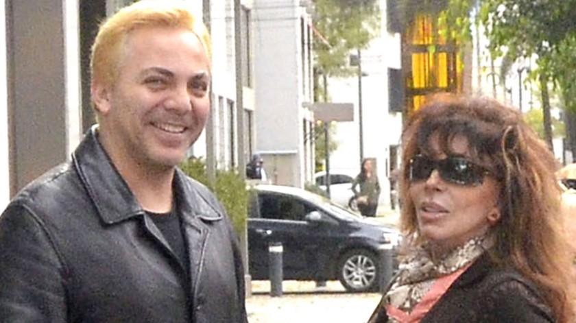 Reitera Cristian Castro que no golpeó a su mamá Verónica Castro.(Agencia México)