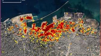 La NASA muestra el sorprendente daño de la explosión de Beirut