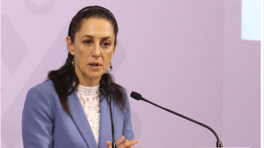Claudia Sheinbaum se aísla tras positivo a Covid-19 de secretario de Gobierno(GH)