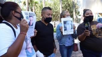 """El diputado Pedro Carrizales, """"El Mijis"""" acompañó al colectivo """"Una Nación Buscando T"""" en la búsqueda."""