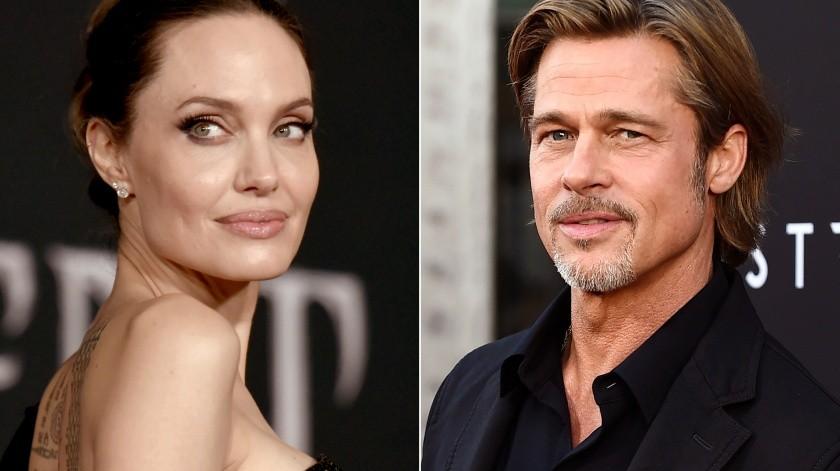 Angelina Jolie y Brad Pitt formalizaron su divorcio en abril de 2019.(AP)