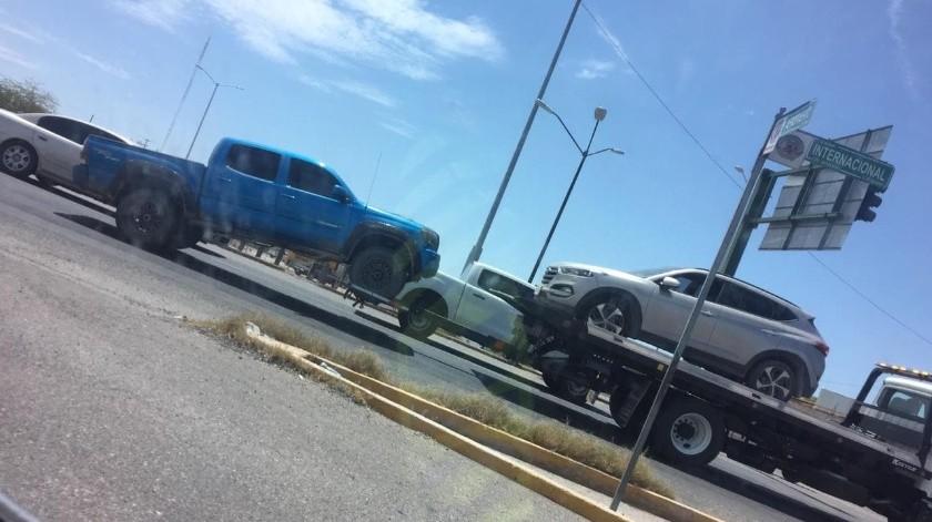 Recuperan autos en carretera Altar-Santa Ana; fueron robados con violencia(El Imparcial)