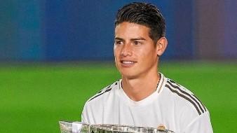 James Rodríguez saldría del Real Madrid para la siguiente temporada