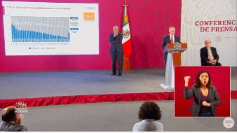 Sigue la conferencia de AMLO desde Palacio Nacional | El pulso de la salud