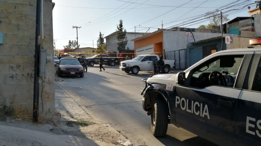 Dejan presunto narcomensaje en vivienda de Camino Verde(Margarito Martínez)
