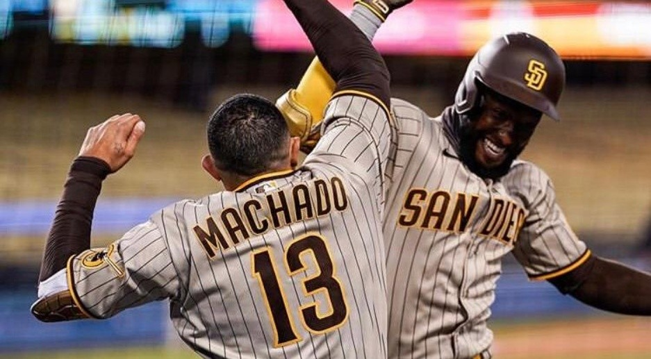 Machado acaba a los Dodgers