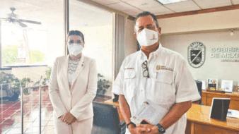 Coordina Escobedo esfuerzos para mejorar calidad del aire en BC
