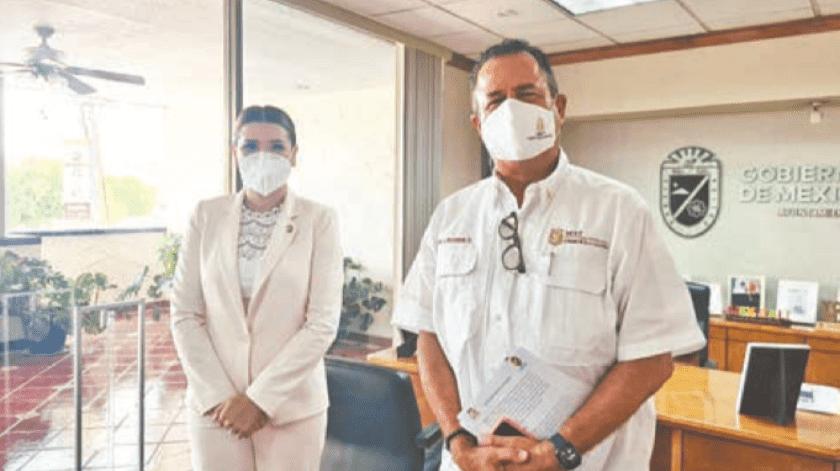 Coordina Escobedo esfuerzos para mejorar calidad del aire en BC(Cortesía)