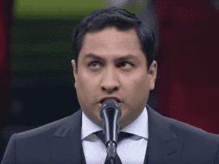 Estos son los famosos que se han equivocado en el Himno Nacional.