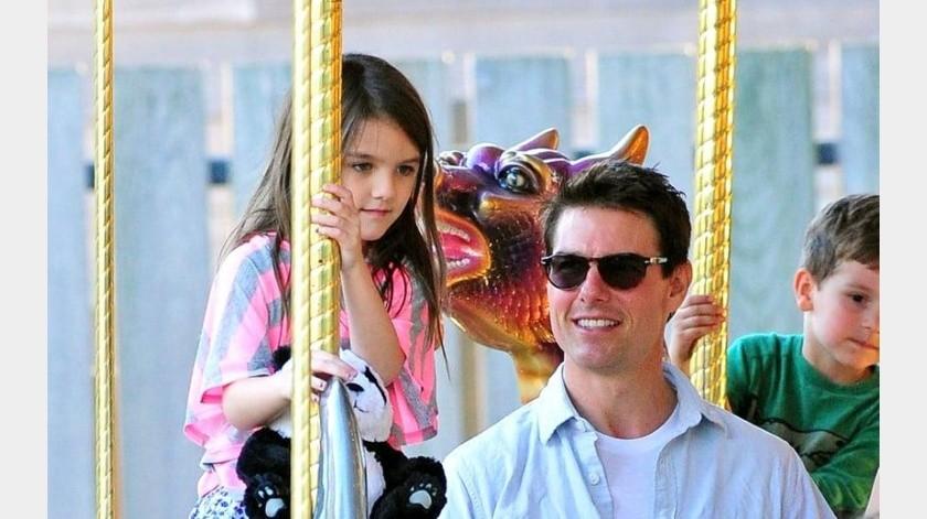 Tom Cruise quiere alejar a su hija de su madre, Katie Colmes(Internet)