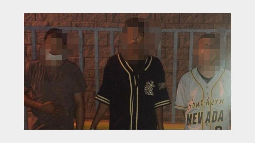 Adolescentes son detenidos con armas y por asaltos en SLRC(Cortesía)