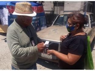 Revisan medidas de higiene en el mercado común de El Sauzal