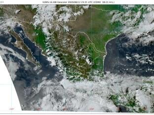 Clima: Pronostican lluvias intensas, durante esta noche, para Colima, Guerrero, Jalisco, Michoacán, Nayarit y Oaxaca