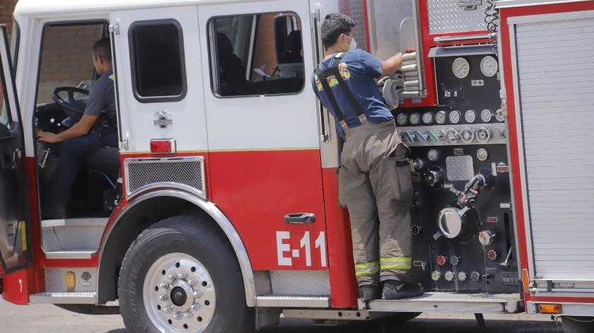 Incendio en supermercado de  fraccionamiento La Rioja provoca daños; no hubo heridos(Archivo GH)