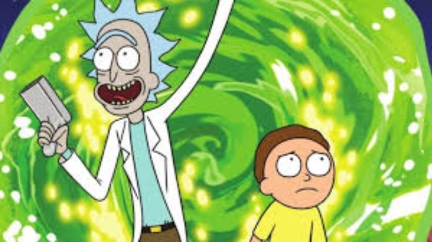 Rick y Morty en riesgo de ser cancelada.(Tomada de la red)