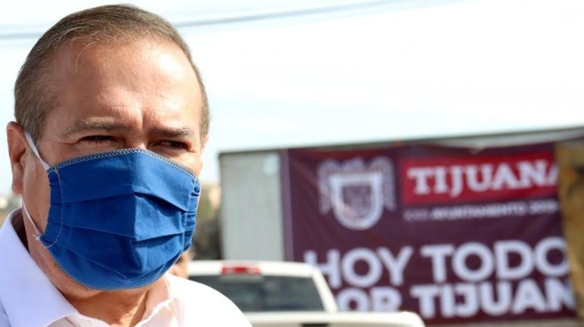 Arturo González Cruz, alcalde de Tijuana.(Cortesía)