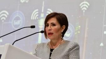Rosario Robles, titular en 2017 de LaSecretaría de Desarrollo Agrario, Territorial y Urbano (Sedatu)