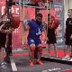 ¡Que dolor! Levantador de peso ruso se fractura las rodillas al intentar levantar 400 kilos