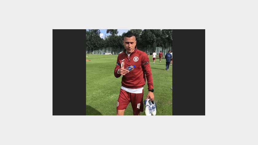 """¡El """"Cata"""" esta de vuelta! Domínguez se reportó este jueves a entrenar con Cruz Azul(Captura de pantalla)"""