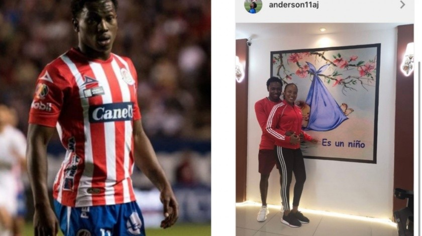 Exhiben a Anderson Julio, jugador de San Luis, por acoso en Instagram(Especial)