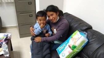 Localizan a Dylan, bebé desaparecido en mercado de Chiapas
