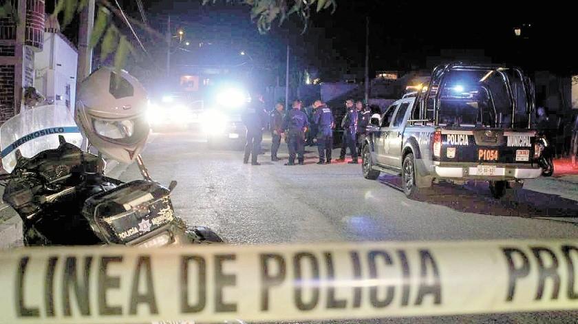 Dos hombres presentaron lesiones con arma punzocortante en diferentes partes de su cuerpo, de acuerdo con las autoridades policiacas.(Banco Digital)