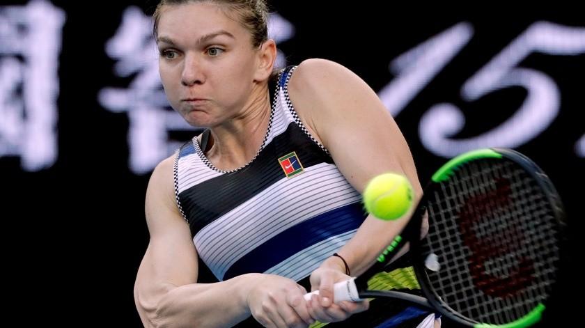 Simona Halep ya está en semifinales del Abierto de Praga(AP)