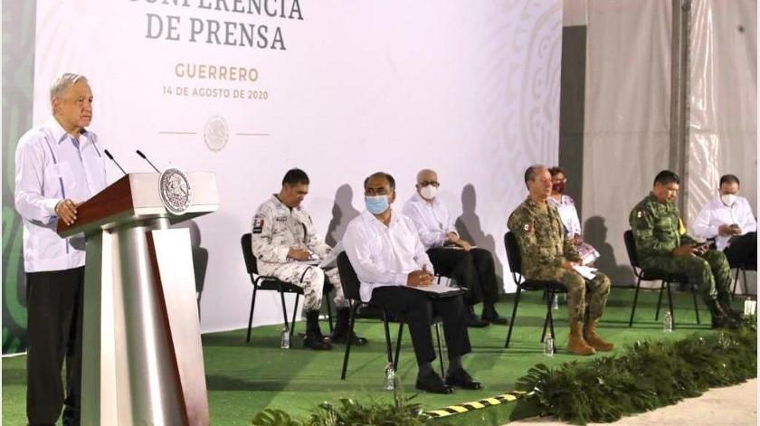 """El presidente Andrés Manuel López Obrador confundió a José María Morelos y Pavón, quien escribió los """"Sentimientos de la Nación"""", con Vicente Guerrero.(Gobierno de México)"""