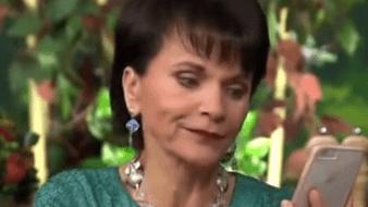 La veterana conductora del noticiero de espectáculos desmintió la afirmación y se mostró sorprendida por las acusaciones de Marcovich