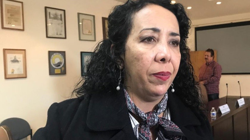 Araceli Brewn, alcaldesa de Rosarito.(Carmen Gutiérrez)