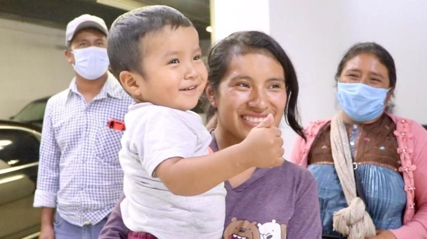 El niño Dylan Esaú permaneció 44 días desaparecido en Chiapas, en el sureste de México.